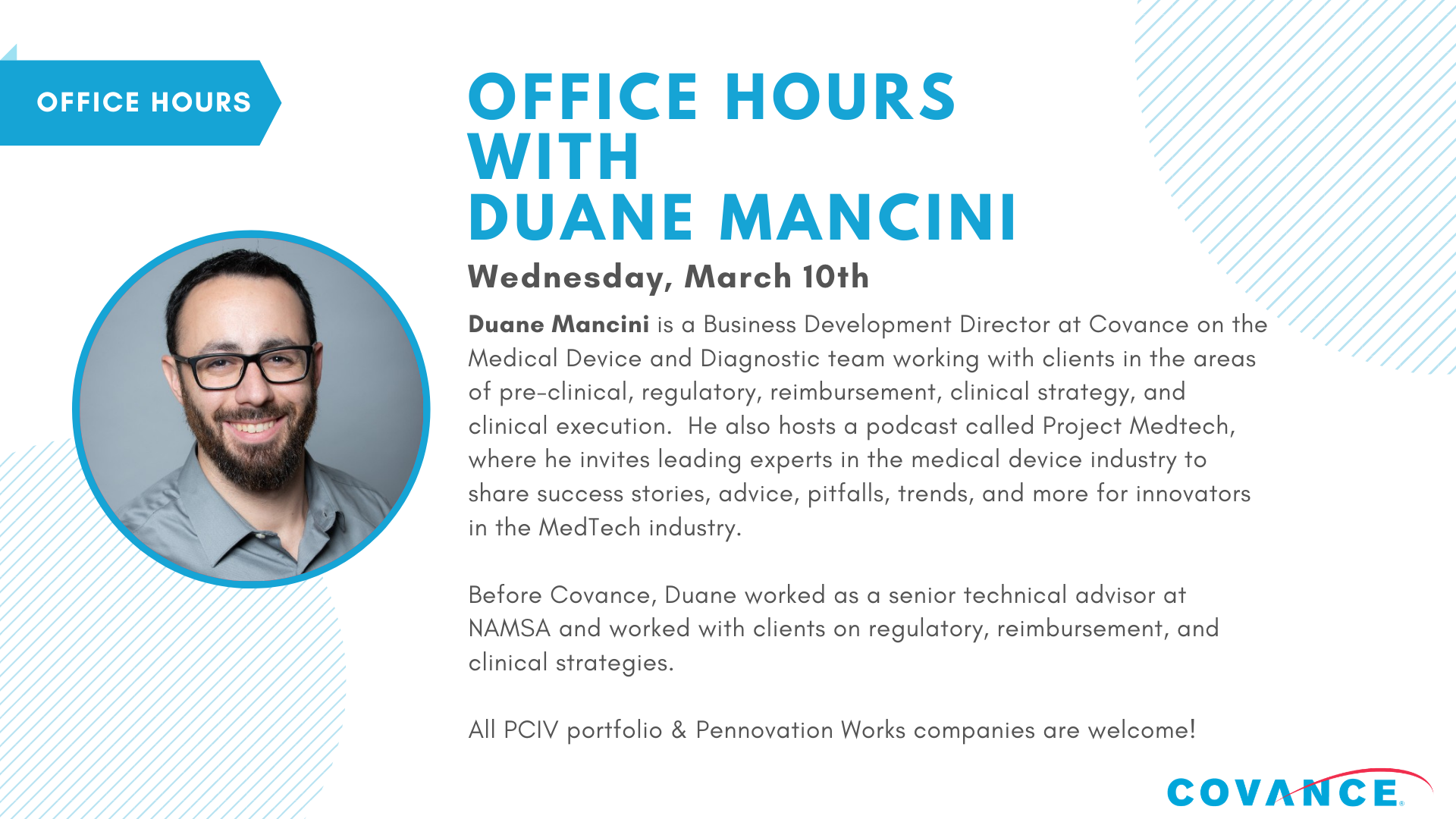 Office Hours with Duane Mancini