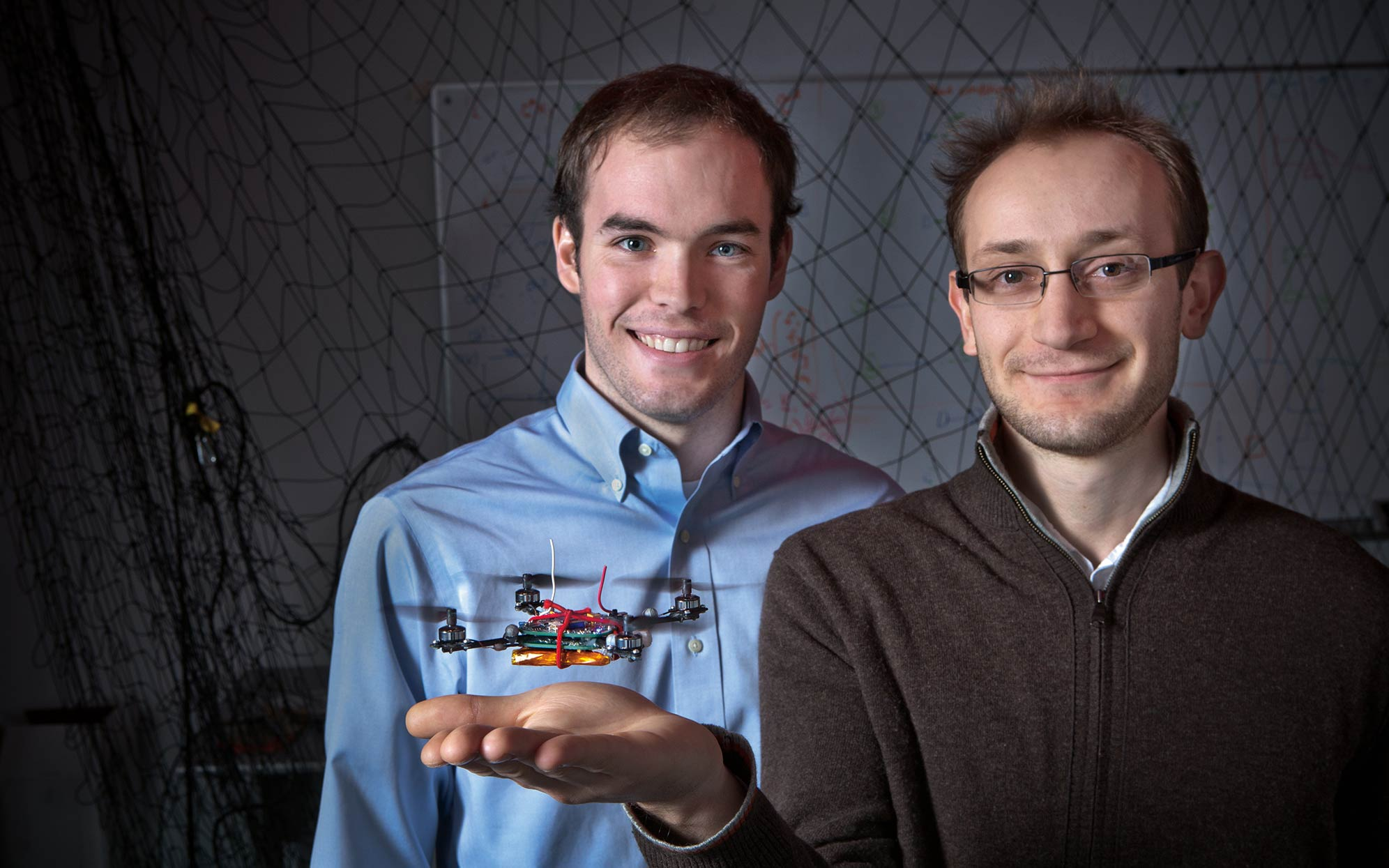 growing team of researchers and engineers aerial vehicles and robotic systems