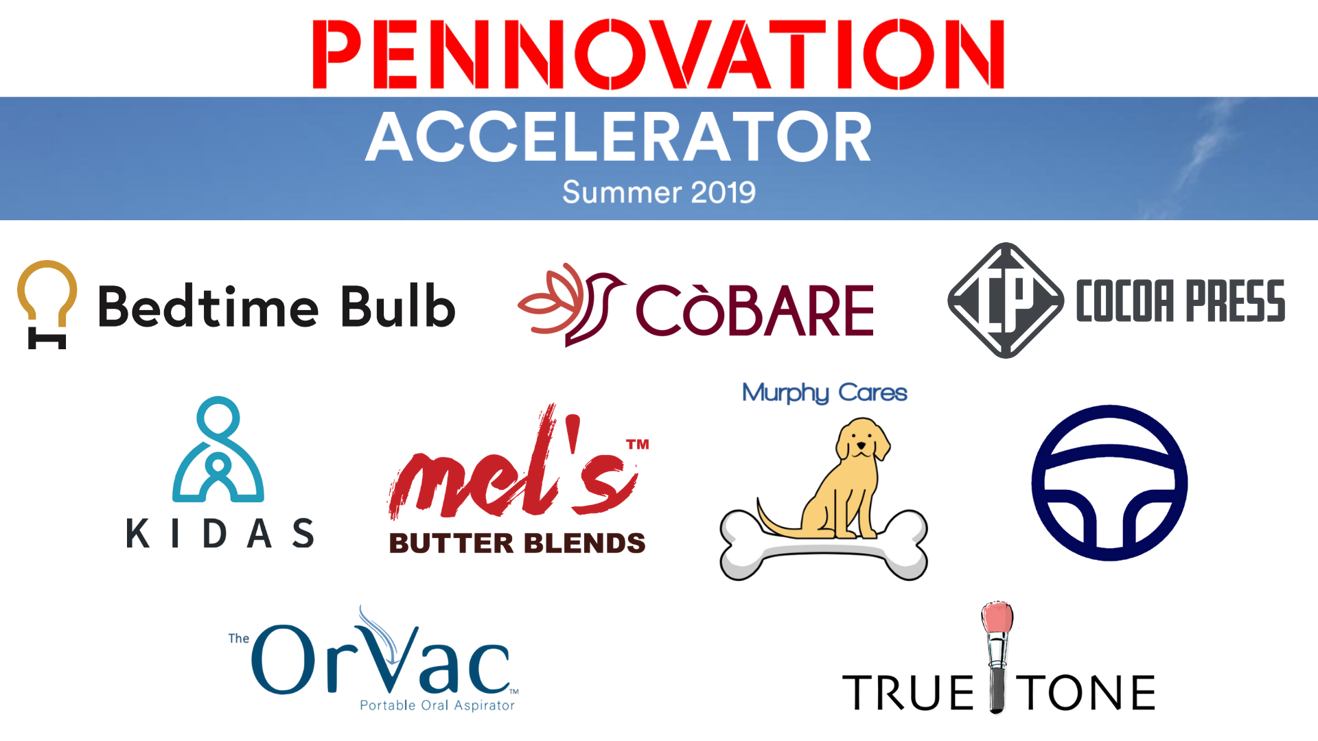 Introducing the 2019 Pennovation Accelerator Cohort