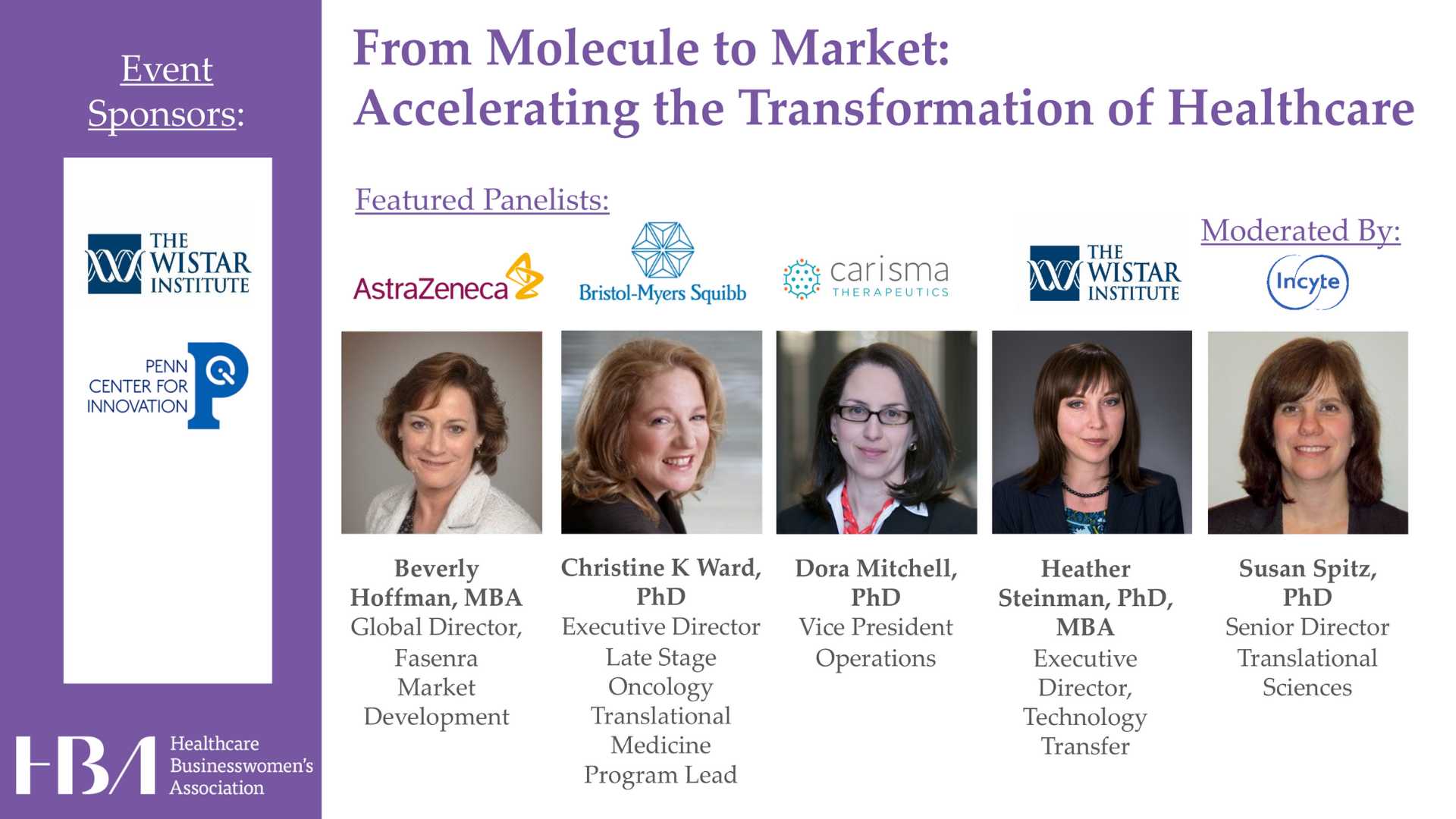 From Molecule to Market: Accelerating the Transformation of Healthcare