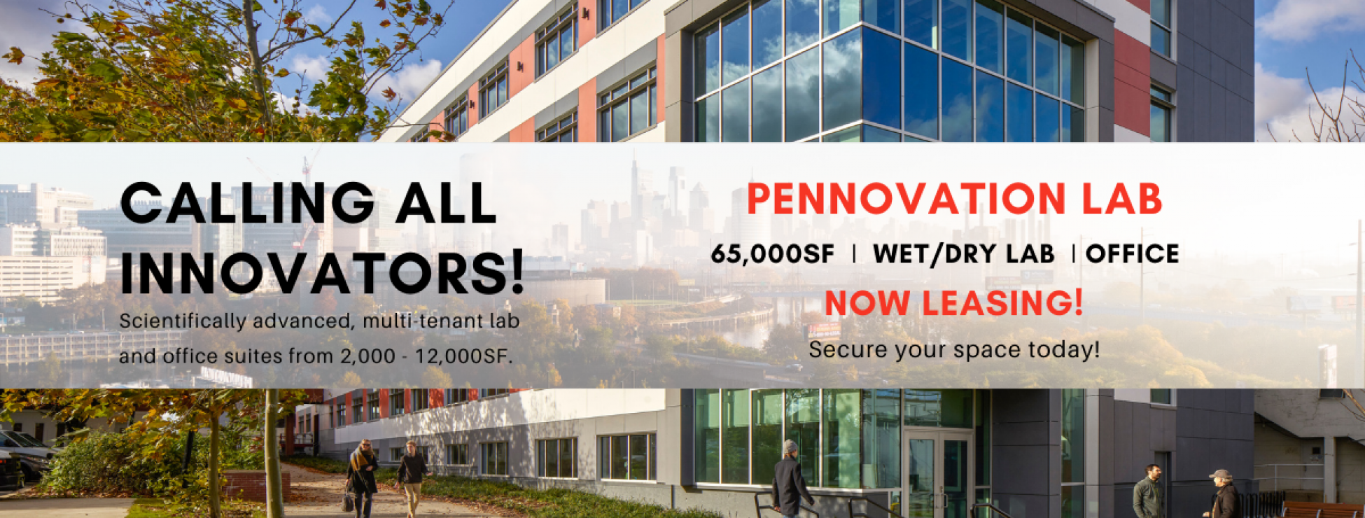 pennovation lab promotional with text