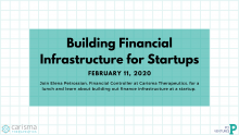 Building Financial Infrastructure for Startups