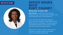 Ruby Chandy Office Hours