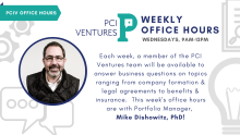 PCIV Office Hours-Mike Dishowitz-F21