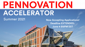 2021 Pennovation Accelerator Applications Open 6.4