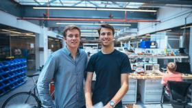 Photo of co-founders of IQ Motion Control