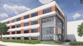 Rendering of Lab Building at Pennovation Works