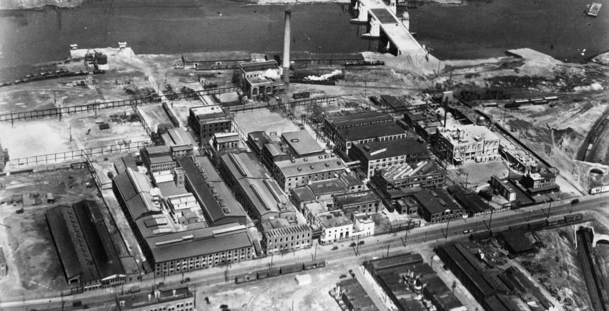 Grays Ferry site, circa 1940