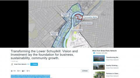 screen shot Lower Schuylkill video