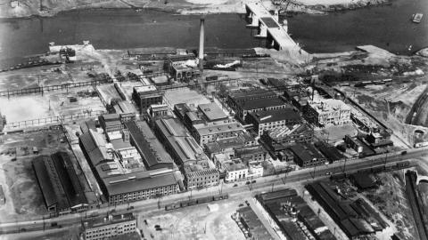 Grays Ferry site circa 1940